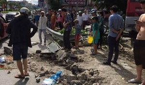 Tài xế xe khách tông 5 người thương vong ở Quảng Ninh âm tính với ma túy