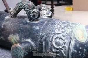 Độc đáo súng đồng thần công thành Điện Hải có nguồn gốc từ Hà Lan