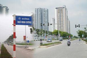 Lại 'cắm bừa' biển tên đường, phố ở Hà Nội