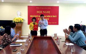 Trao quyết định điều động Phó Chủ tịch Hội Liên hiệp Phụ nữ tỉnh