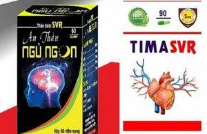 Năm lô thực phẩm chức năng sản xuất tại Trung tâm dược liệu Hà Nội không đảm bảo ATTP