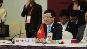 Phó Thủ tướng Phạm Bình Minh đề cập vụ việc tàu khảo sát HD-8 của Trung Quốc tại hội nghị ASEAN