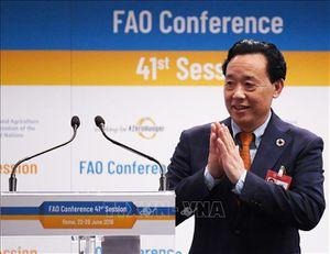 Tân Tổng giám đốc Tổ chức Lương thực và Nông nghiệp của Liên hợp quốc (FAO) nhậm chức