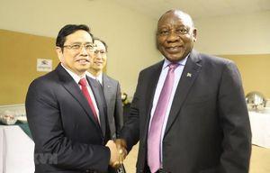 Việt Nam-Nam Phi tăng cường hợp tác song phương ở nhiều lĩnh vực