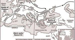 Những người Germanic và sự định hình Tây Âu Trung Cổ