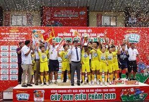 U11 SLNA vô địch Giải bóng đá nhi đồng toàn quốc – Cúp Kun siêu phàm