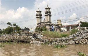 Nguy cơ sạt lở nghiêm trọng tuyến tỉnh lộ 946 tại An Giang