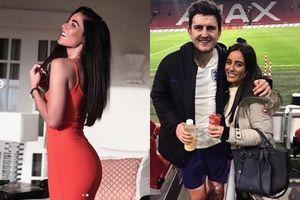 Đường cong 'đốt mắt' của bạn gái Harry Maguire - chân sút 85 triệu bảng mới về MU