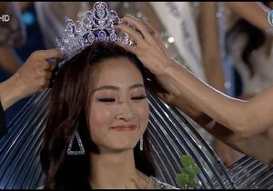 Lương Thùy Linh giành vương miện Miss World VietNam 2019