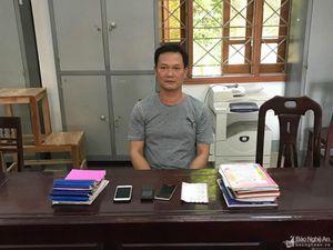 Bắt ổ nhóm cho vay hàng chục tỷ đồng với lãi suất trên 200%/năm ở Nghệ An