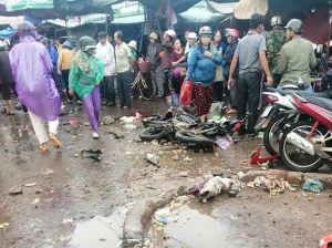 Hé lộ nguyên nhân ban đầu vụ xe khách lao vào chợ khiến 5 người thương vong