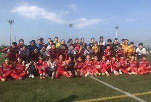 Tuyển Việt Nam thua nặng CLB Nhật Bản 0-3