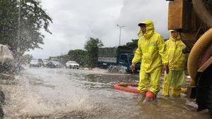 Cơ bản các điểm ngập úng ở quận, huyện của Hà Nội đã rút hết nước