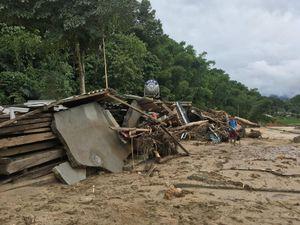 Phát hiện 2 thi thể ở vùng biển Quảng Xương nghi nạn nhân bị lũ cuốn