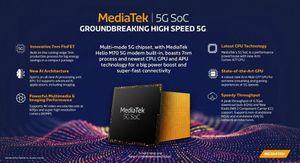 Mediatek xác nhận ra mắt SoC 5G vào đầu năm tới