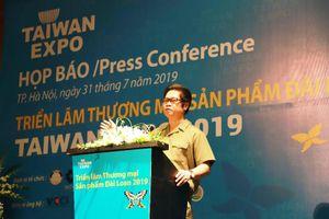 Hơn 170 đơn vị tham gia Triển lãm Thương mại sản phẩm Đài Loan 2019