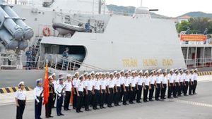 Tàu 016-Quang Trung về căn cứ sau chuyến thăm Nga lịch sử