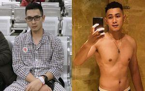 Trải qua loạt biến cố, chàng trai tăng 11 kg, 'lột xác' về ngoại hình