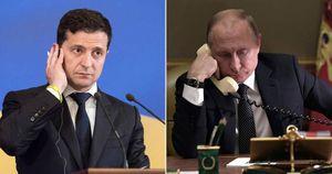 Tổng thống Ukraine bất ngờ điện đàm khẩn với Tổng thống Nga Putin