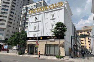 Karaoke Pattaya Club hoạt động không phép: UBND quận Thanh Xuân vào cuộc xử lý