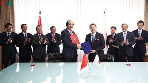Việt Nam-Nhật Bản ký Bản ghi nhớ hợp tác triển khai Chính phủ điện tử