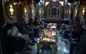Phát hiện 30 người nghi phê ma túy trong nhà hàng Lộc Phát 68