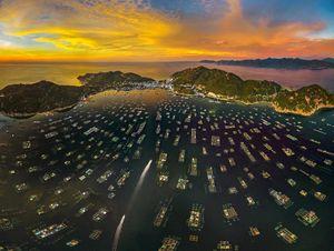 Đẹp mê hồn cảnh sắc Việt Nam nhìn từ trên cao