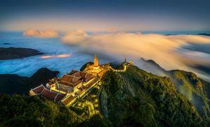 Bức ảnh 'Thác Bản Giốc' đoạt giải nhất cuộc thi Việt Nam nhìn từ trên cao