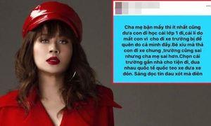 Lưu Thiên Hương khóa Facebook vì 'vạ miệng' vụ bé lớp 1 tử vong