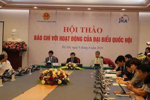 Hội thảo Báo chí với hoạt động của Đại biểu Quốc hội