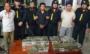 Nhóm đối tượng vận chuyển 120 bánh heroin từ Lào về Việt Nam