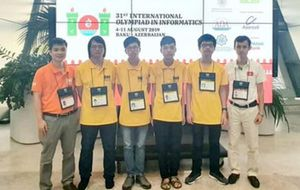 Việt Nam đứng thứ 4 tại Olympic Tin học quốc tế 2019