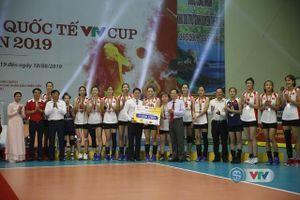 U23 Việt Nam giành ngôi á quân Giải bóng chuyền nữ quốc tế VTV Cup 2019