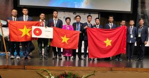 Việt Nam đứng nhất Olympic Thiên văn học và Vật lý thiên văn quốc tế