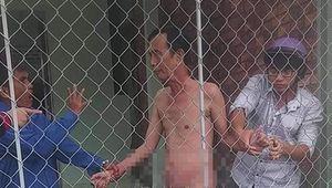 Khởi tố cụ ông khỏa thân cùng bé gái 13 tuổi