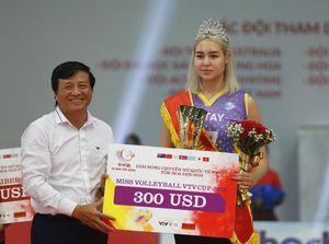 Chân dài bóng chuyền Kazakhstan 'ẵm' giải Hoa khôi VTV Cup 2019