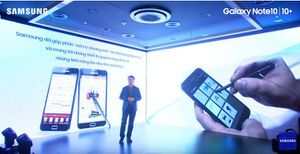 Samsung ra mắt chính thức Galaxy Note10 series tại Việt Nam