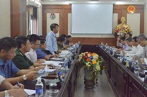 Đắk Nông: Ban Chỉ đạo Trung ương về phòng, chống thiên tai làm việc về công tác an toàn hồ đập