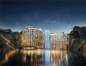 Khó tin những công trình kiến trúc vĩ đại dưới lòng đất
