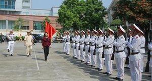 Phó Chủ tịch nước làm việc tại Công an tỉnh Thái Nguyên
