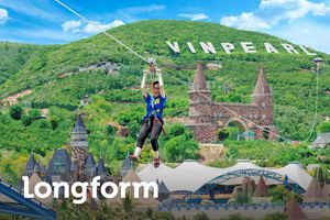 Ngắm biển trời Nha Trang trên đường zipline có độ dốc lớn nhất VN