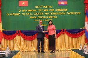 Việt Nam-Campuchia tích cực chuẩn bị cho kỳ họp 17 Ủy ban hỗn hợp