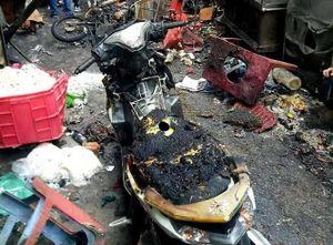 Nổ bình gas gây hỏa hoạn, 7 ngôi nhà ở TP Hồ Chí Minh bị ảnh hưởng