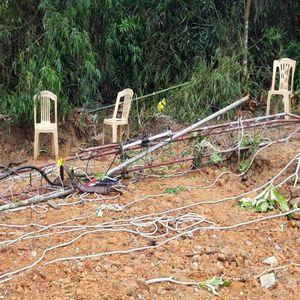 Quảng Bình: 2 kỹ thuật viên tử vong khi tháo dỡ cột ăng ten đài truyền thanh