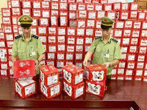 Thu giữ gần 57.000 bánh dẻo Mashu nhập lậu từ Trung Quốc