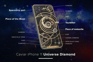 iPhone 11 phiên 'bản độ' kim cương, hồng ngọc giá 50.000 USD