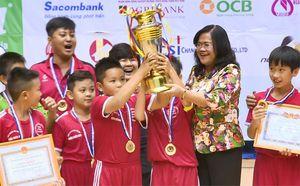 Biên Hòa vô địch Giải bóng đá nhi đồng cúp Báo Đồng Nai lần 17