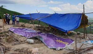 Dân Quảng Nam dựng lều trại ngăn cản thi công lò đốt rác: Đối thoại bế tắc