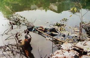 Phi tang xác 'bạn nghiện' xuống sông Nhuệ