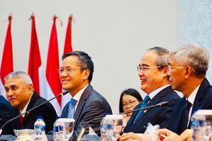 TP.HCM tìm hiểu kinh nghiệm Indonesia xây đê biển chống ngập